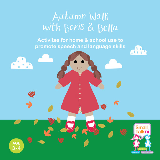 Autumn Walk with Boris and Bella - for 3-4 year olds