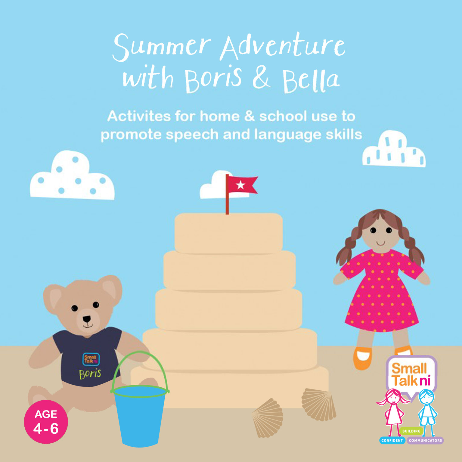 Summer Adventure with Boris and Bella - for 4-6 year olds