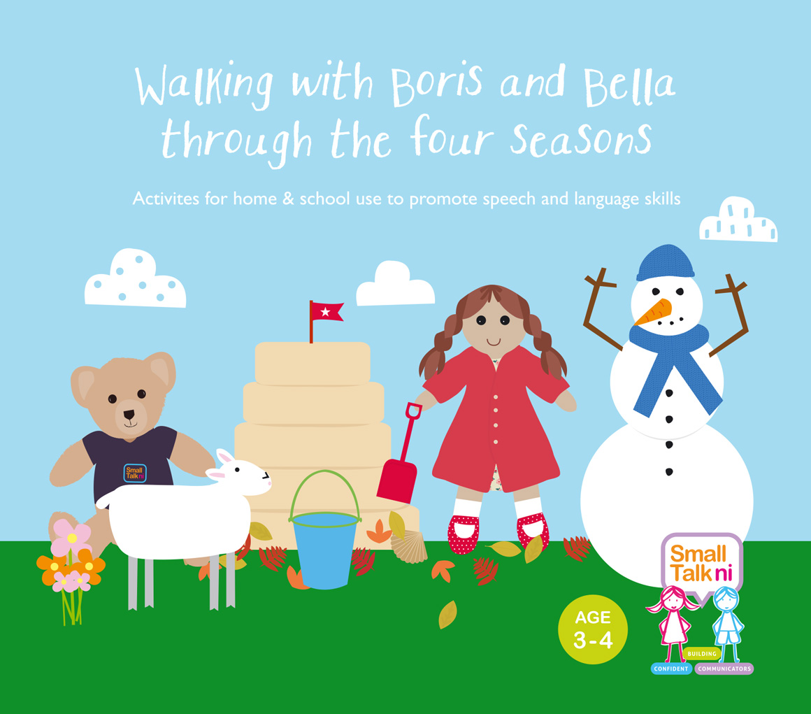 Walking with Boris and Bella Through The Four Seasons - for 3-4 year olds